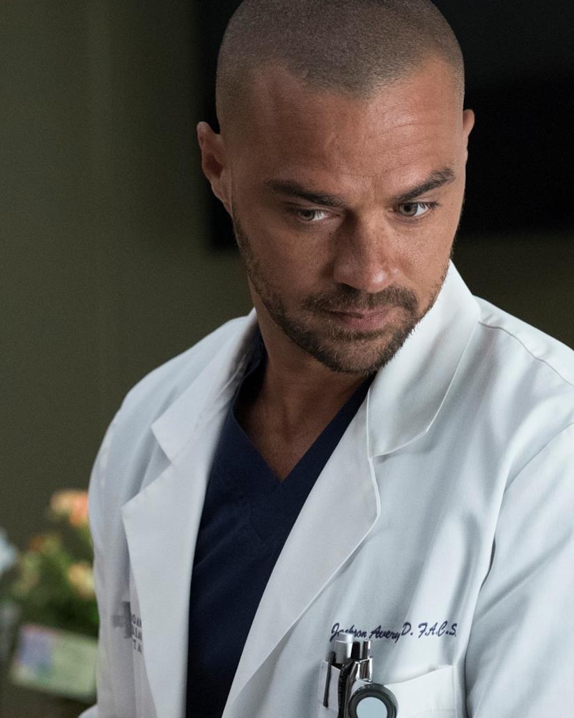Jesse Williams è Jackson Avery in Grey's Anatomy 14