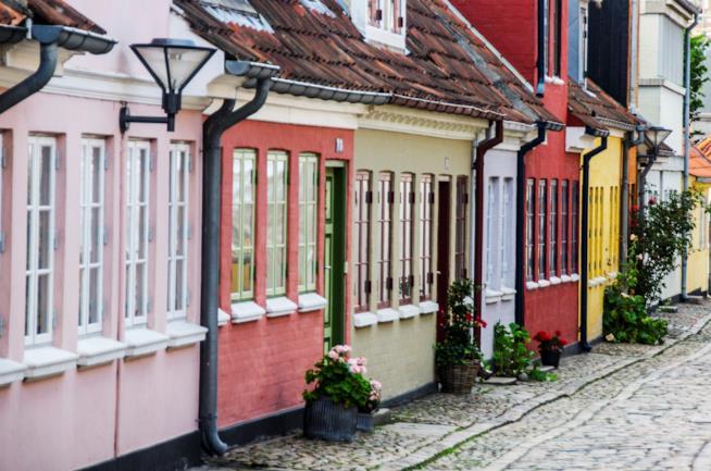 Quartiere di H.C. Andersen a Odense