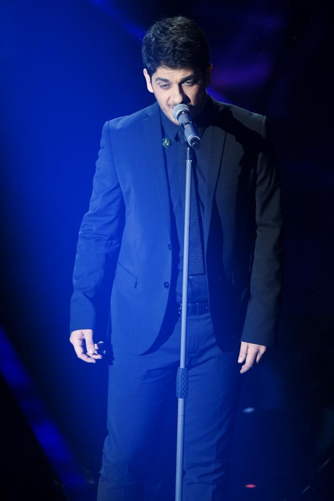 Mirkoeilcane canta Stiamo tutti bene a Sanremo 2018