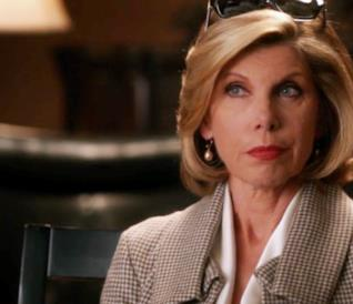 Diane Lockhart in The Good Wife