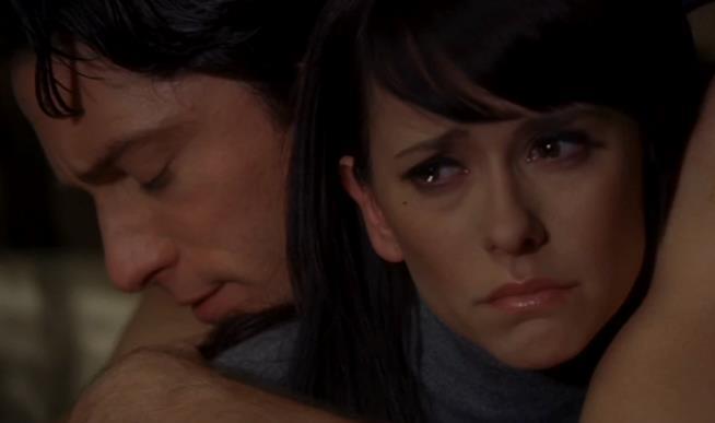 Melinda e Jim nel finale della prima stagione