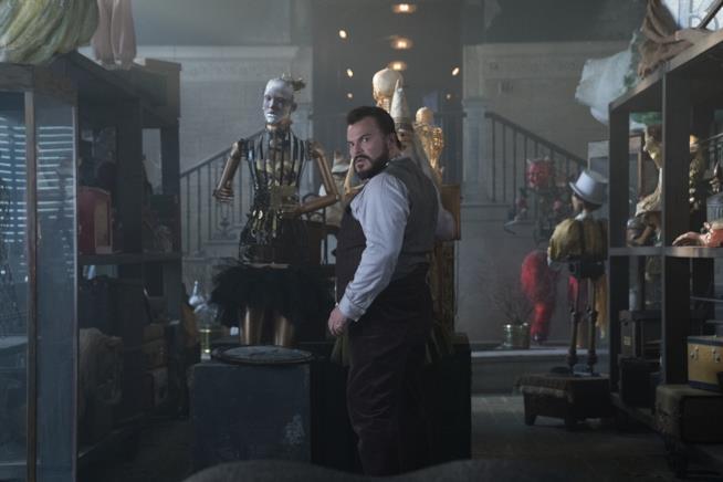 L'attore Jack Black diverte grandi e piccini nel ruolo di un magico zio nel film diretto da Eli Roth