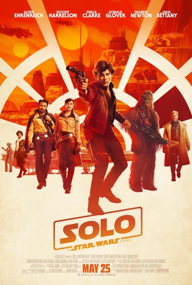 La locandina di Han Solo: A Star Wars Story