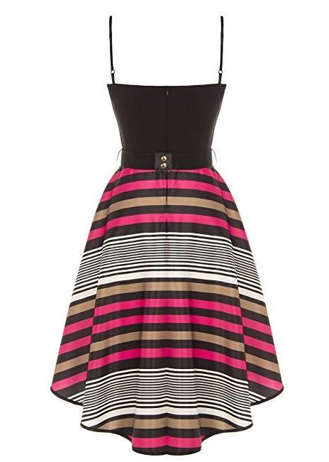 Il vestito a righe di tendenza estate 2018