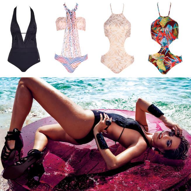 Costumi donna catalogo Parah 2018 trikini