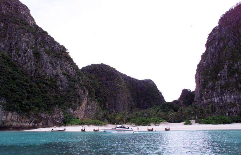 La spiaggia Maya Bay in Thailandia