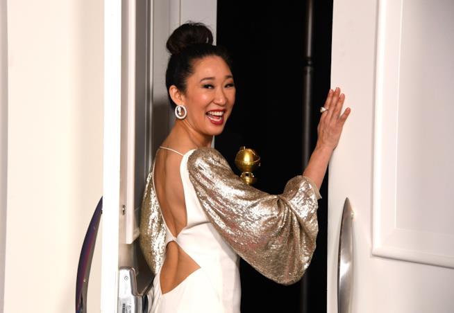 Sandra Oh sul red carpet