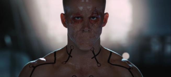 Ryan Reynolds in una scena di X-Men Origins: Wolverine
