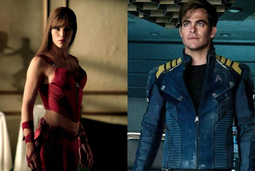 Jennifer Garner in Elektra e Chris Pine in Star Trek