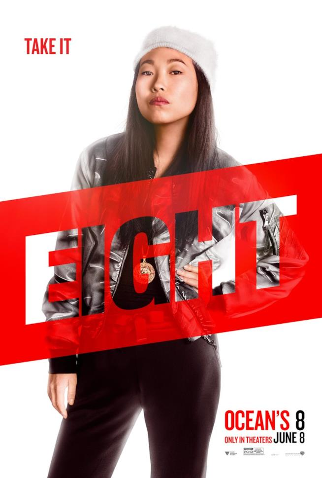 Character poster di Awkwafina in Ocean's 8
