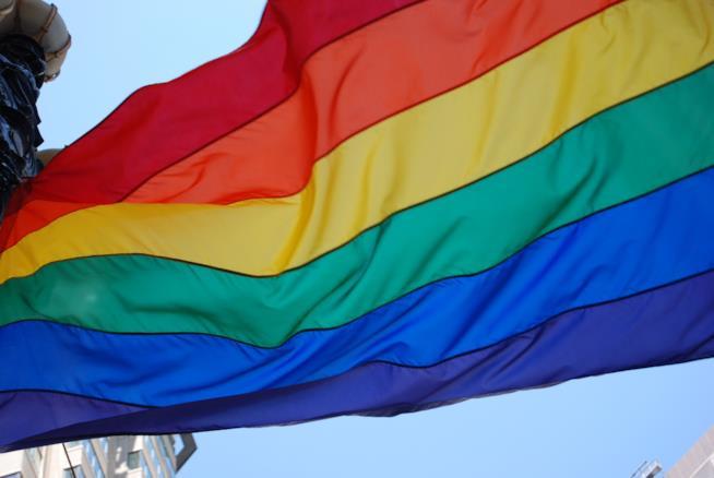 Bandiera arcobaleno lgbt