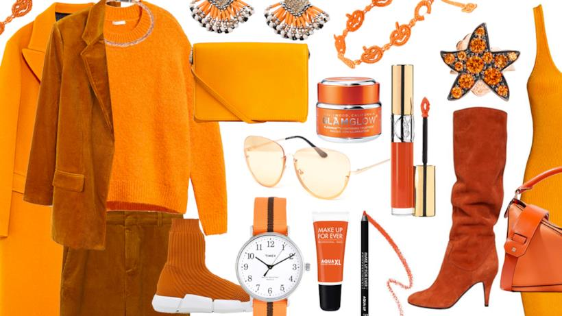 Come vestirsi ad Halloween in total orange