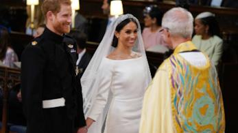 Harry e Meghan al matrimonio