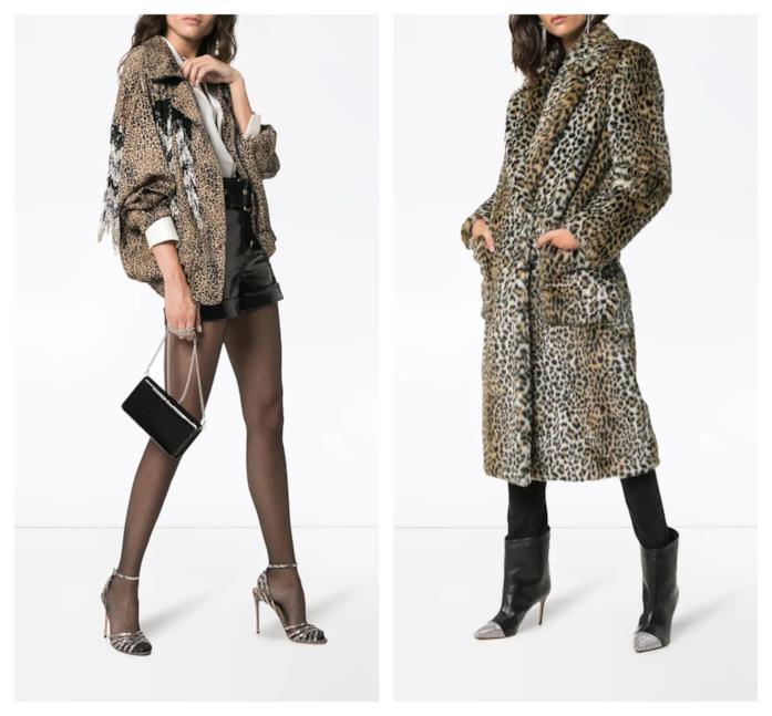 In stile animalier, le giacche di moda per l'A/I 2018-19