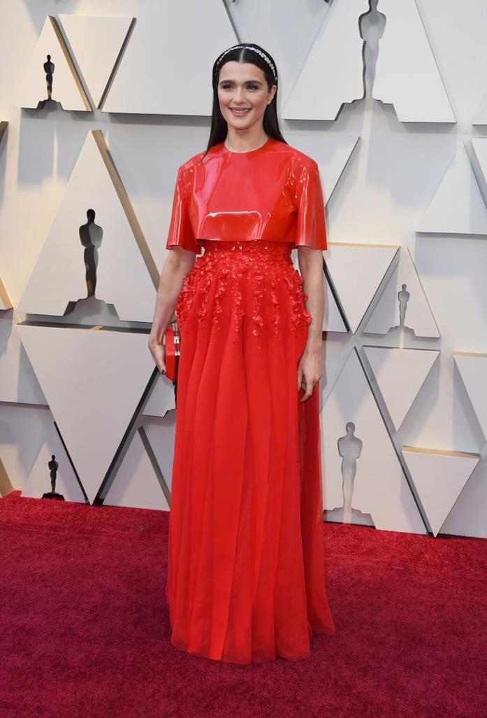 Rachel Weisz sul red carpet degli oscar 2019