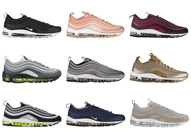 I colori delle Nike air 97