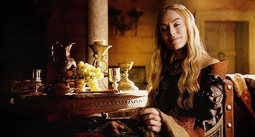 Cersei Lannister in primo piano