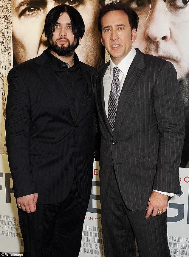 Nicolas Cage e Weston Cage
