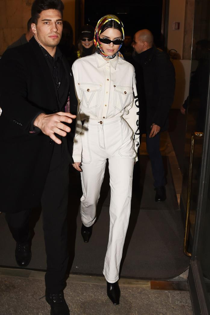 Kendall Jenner Babushka Style