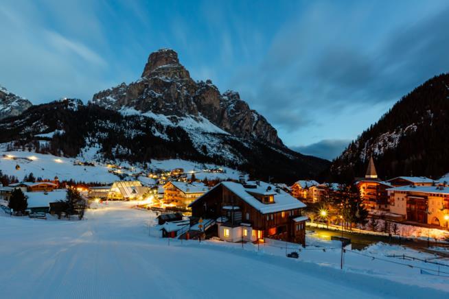 L'Alta Badia, luogo ideale per sciare in inverno