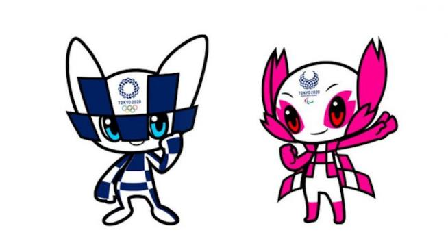 Le mascotte delle Olimpiadi di Tokyo 2020