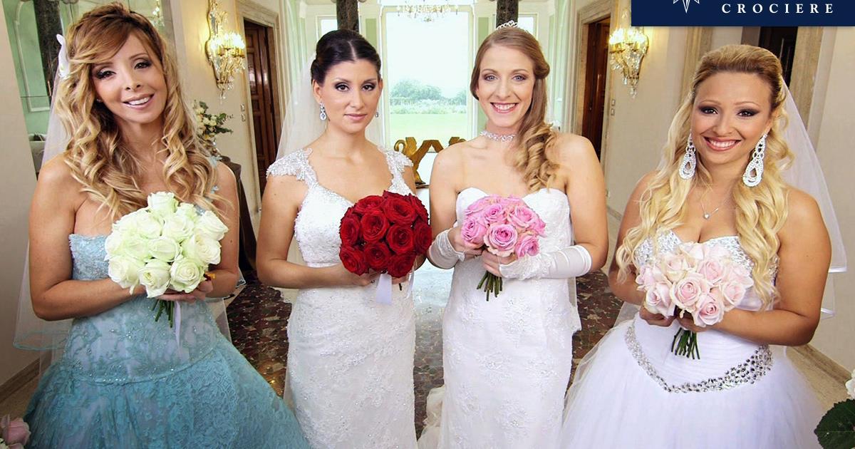 Matrimonio In Europa : Una delle spose di matrimoni in italia vincerà msc