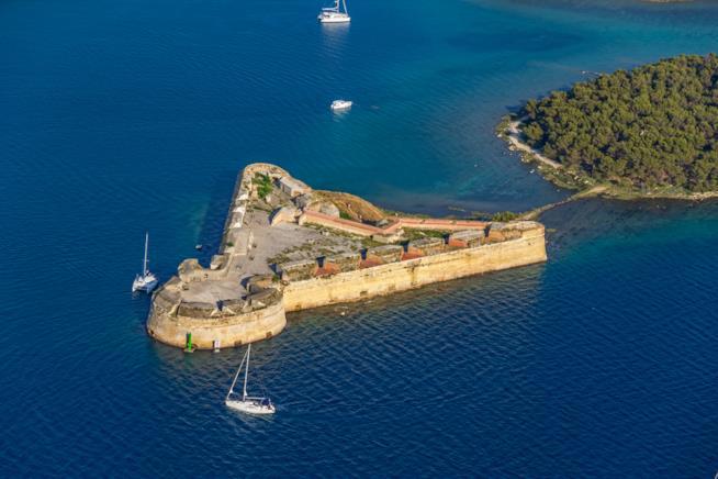 La fortezza rinascimentale di San Nicolò a Šibenik