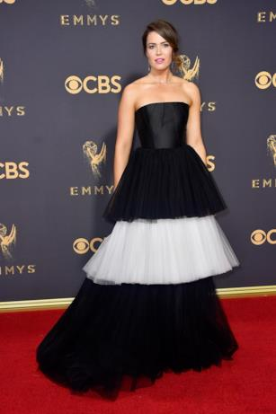 Mandy Moore sul red carpet Emmy