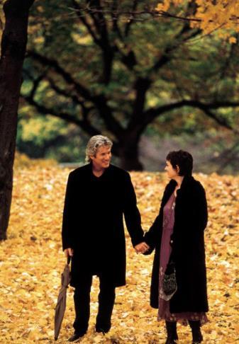 Autumn in New York, una scena con Winona Ryder e Richard Gere