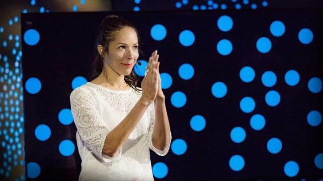 Nikki Webber Allen durante il suo intervento al TED Conference