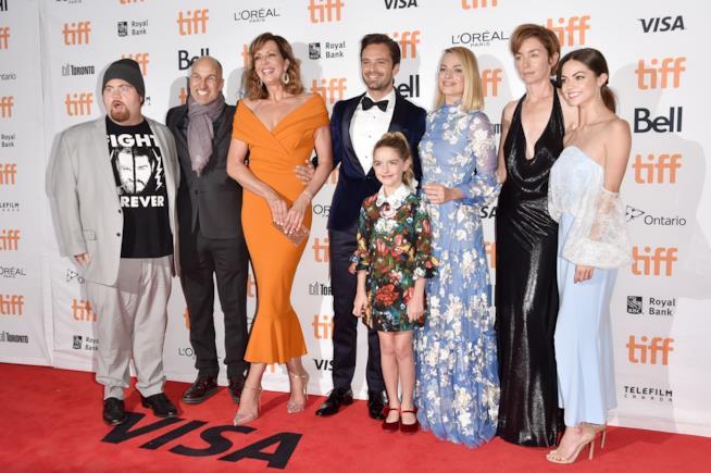 Il cast del film I,Tonya al Festival del cinema di Toronto