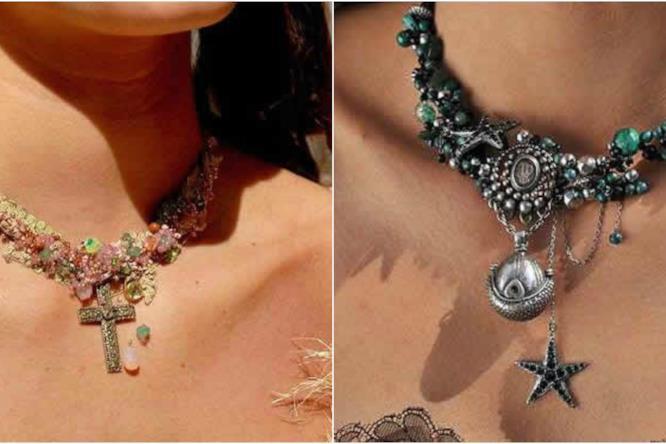 Le collane in stile fiaba di Sylvie Facon