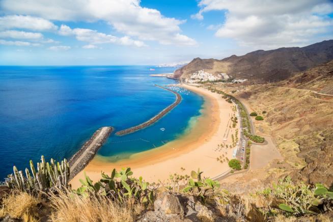 Playa de las Teresitas, Tenerife, Isole Canarie