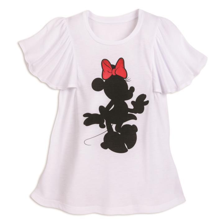 T-shirt con sagoma Minnie di Minnie Rock the Dots