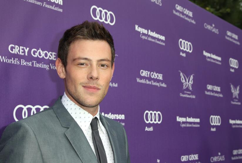 L'attore Cory Monteith