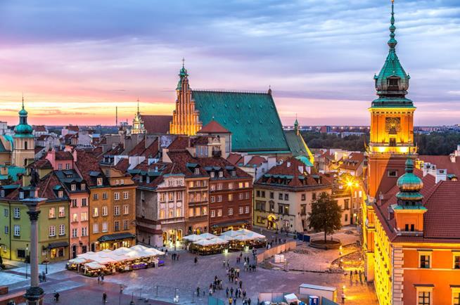 Varsavia in Polonia