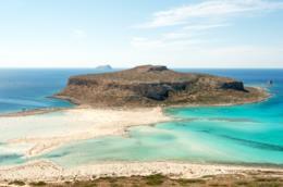 L'isola di Creta, in Grecia