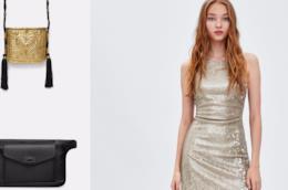 Paillettes e dettagli metal fra i nuovi arrivi di Zara