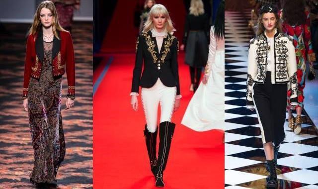 Gli stilisti hanno presentato moderne Lady Oscar
