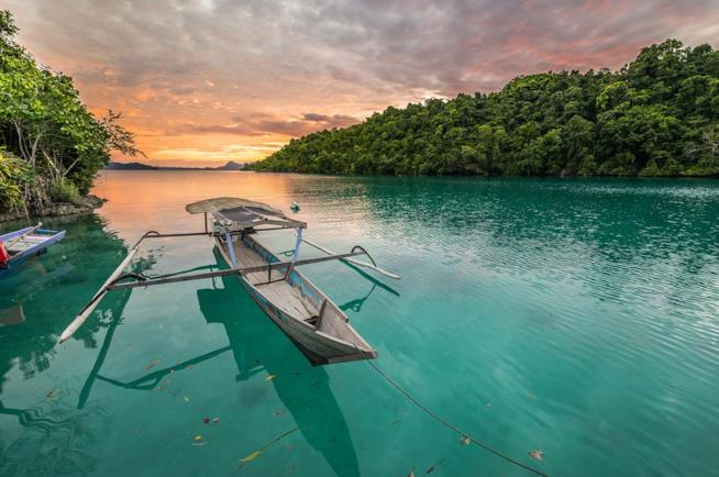 Isole Togian a Sulawesi in Indonesia