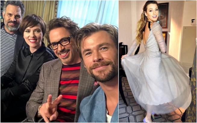 Alcune delle migliori foto delle star su Instagram della settimana