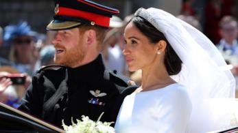 Harry e Meghan Markle sposi in carrozza