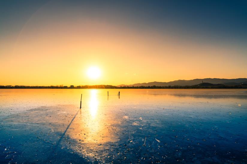 Panorama del solstizio d'inverno