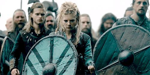 Una scena di Vikings