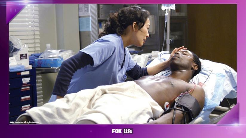 Cristina Yang e Preston Burkein Grey's Anatomy