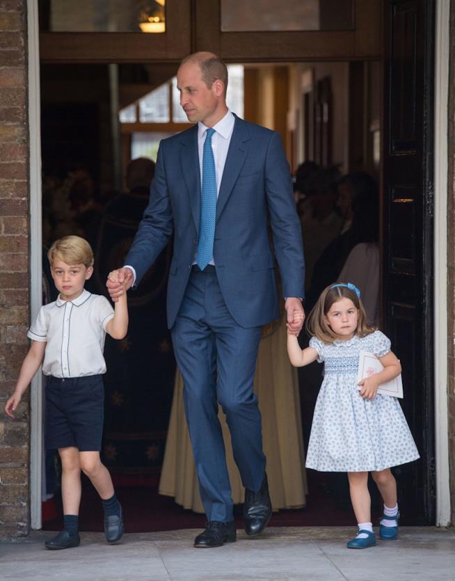 William con George e Charlotte