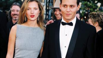 Kate Moss e Johnny Depp