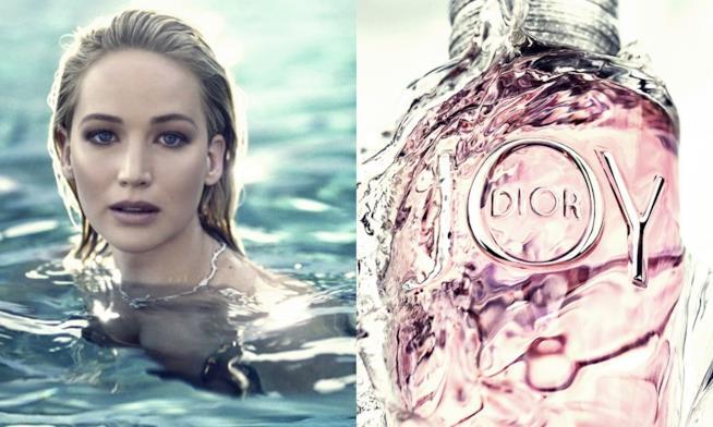 JOY by Dior, eau de parfum luminosa come l'attrice Jennifer Lawrence