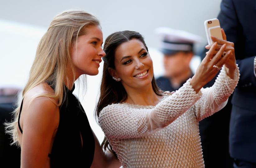 Selfie con Eva Longoria