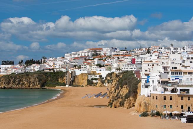 Spiaggia di Albufeira in Portogallo